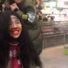#蒙眼化妆#笑死我了、😄