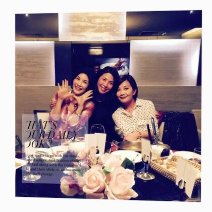 Happy dinner with two sisters!❤️#姐妹聚会##美味的晚餐##happymoment#