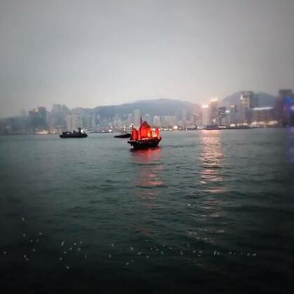 #香港夜景# 🌙🌙 朦胧的夜色✨✨✨