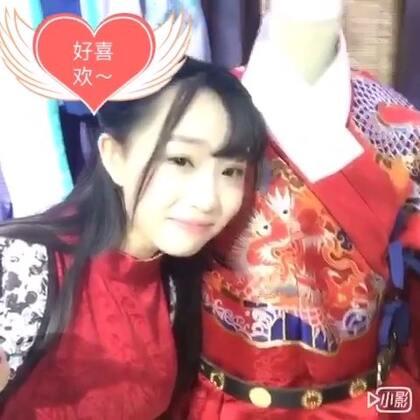 【日常】汉服少女带你逛重庆汉服实体店~鼓励大家把汉服穿出门,也希望见到更多这样的汉服实体#5分钟美拍#