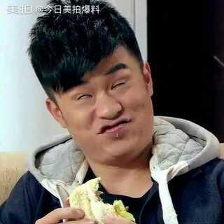 陈赫吃芥末汉堡😂😂😂#芥末挑战##小学生翻白眼对抗赛##搞笑##我要上热门#
