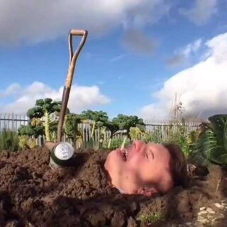醉酒活埋后花园、浇水灌溉...#我要上热门#友尽了!