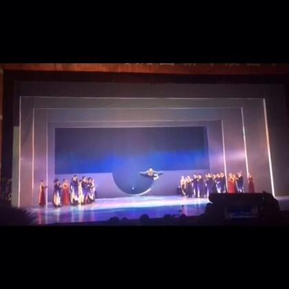 #舞蹈#@刘福洋87号 作品《素写》舞蹈专场..我是用生命在谢幕哈😂😂😂