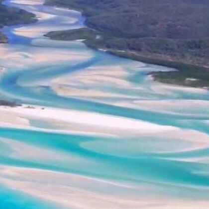 #旅行#天堂是什么样子?白天堂沙滩告诉你!