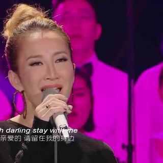 #李玟#赤脚上阵飙海豚音 《stay with me》现场燃爆变格莱美#我是歌手##来芒果tv看我是歌手#