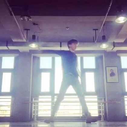 #韩国舞蹈# 好吧,感谢大家的关注,我会努力的,来一支防弹的帅舞,么么哒😊