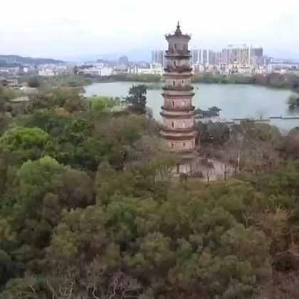 #旅行##航拍#惠州西湖
