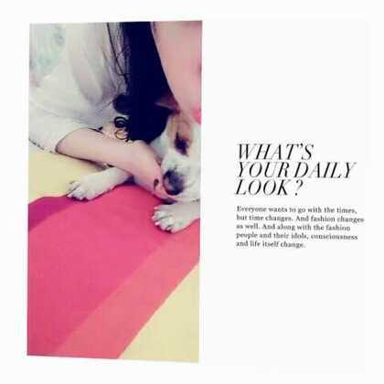 #相亲相爱一家人##爱生活爱狗狗#☺