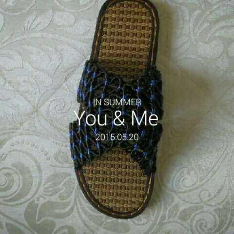 夏季的选择!中国结线纯手工编织凉鞋,凉拖.穿着轻巧,舒适!
