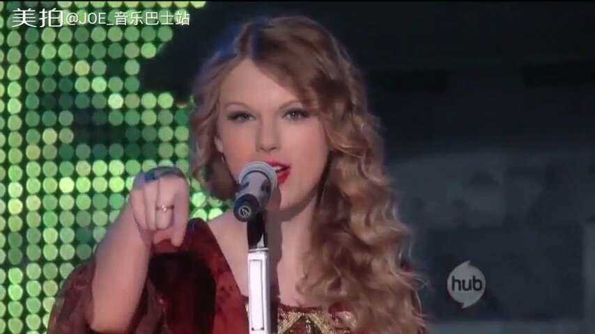 Taylor Swift超美现场《Love Story》#音