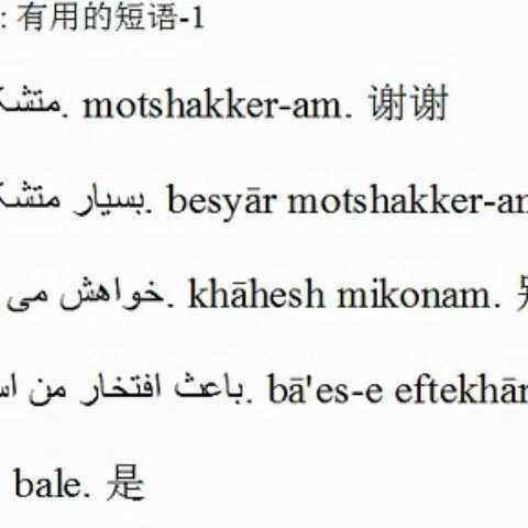 【小语种口语网官网tukk美拍】学波斯语-波斯语学习 tukkk.com