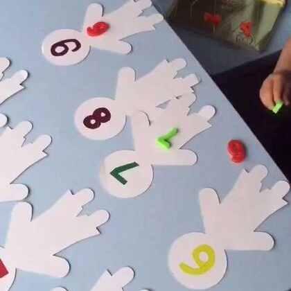 #宝宝成长日记#20 个月宝宝学数学