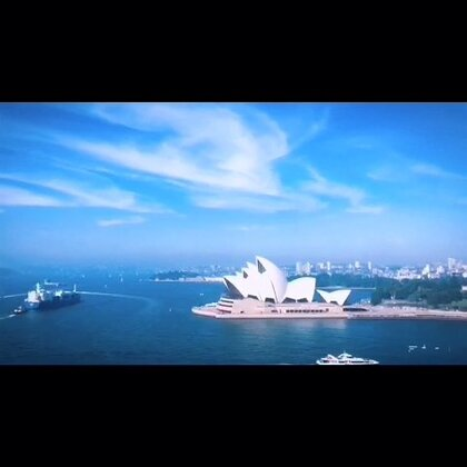 #随手美拍##旅行##澳洲##悉尼#繁忙的港口