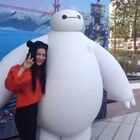 #上海迪士尼乐园##上海迪士尼试运营#上海迪士尼试运营 超级可爱萌萌嗒大白! 超级暖男 #大白#