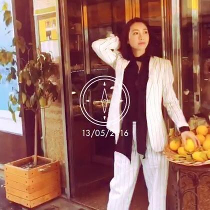 巴黎的傍晚,我和柠檬有个约会#随手美拍#