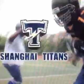 上海泰坦美式橄榄球队跑男舞挑战 SHANGHAI TITANS RUNNING MAN #跑男舞挑战#