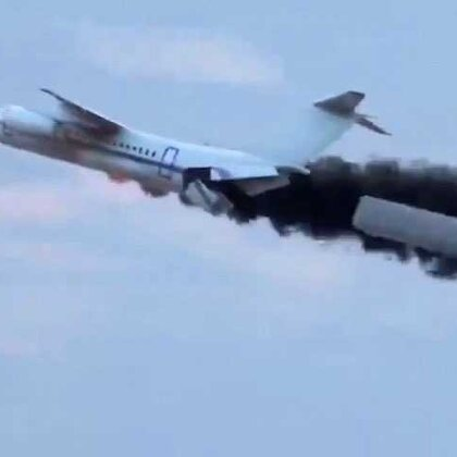 #涨姿势#飞机安全解决方案,你觉得能在发生空难时拯救乘客性命吗😱😱