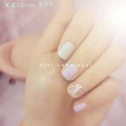 发现一家超级可爱的小店店~MINAKO日系美甲~做了个hin夏天的指甲~还接了睫毛❤❤❤满足我的少女心~~~#美甲#