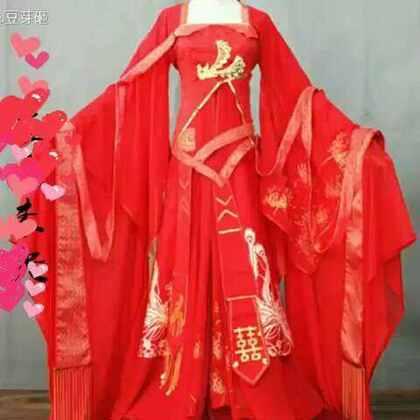 #小豆芽的成品秀#哈哈一套婚服 红妆 十里红妆冠京华,一生一世一双人,白首相望永不弃。 美拍会和谐店铺名字,我就打了一个花式码
