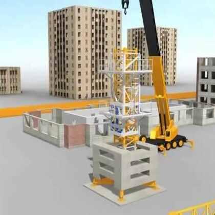 #涨姿势#塔吊是如何搭建和升高的,看完豁然开朗
