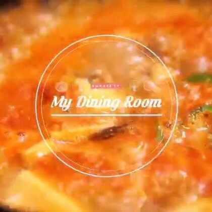 #韩剧#中的汤炖料理三剑客之3--#嫩豆腐汤##美食##美食教程##韩国美食##走哪吃哪##自制美食##韩国家庭料理#