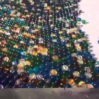 #涨姿势#11000颗弹珠同時滚动