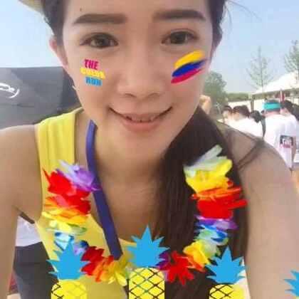 #全民color run#