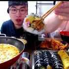 #5分钟美拍##韩国吃播#【哥哥弟弟一起吃寿司方便面】不好意思,这么久才上传!谢谢大家支持!