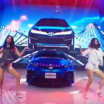 车展 丰田 舞蹈表演#车展##2016北京车展##汽车##发布会##舞蹈#