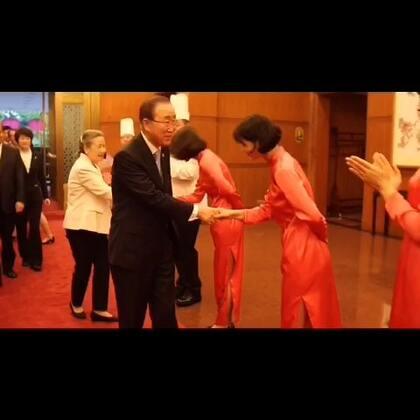 秘书长潘基文抵达北京,开始对中国进行上任以来的第十次访问。