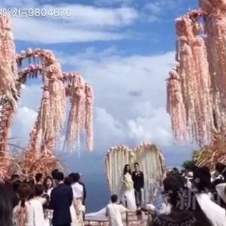 #霍建华林心如结婚##5分钟美拍##林心如#霍建华林心如婚礼简单的出乎意料,朴实感人