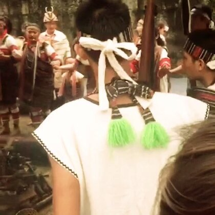 泰雅族 感恩祭 ...馬胎部落 第一站...真的很感動 傳承的力量#泰雅族##少數民族##台灣#