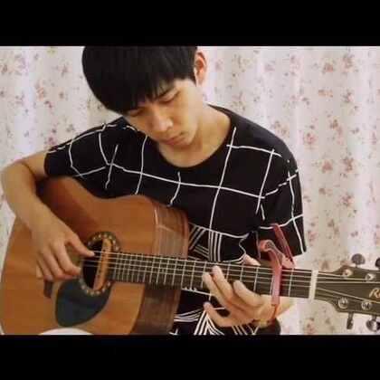 翻弹 岸部真明 《花》 #音乐##吉他##指弹吉他#