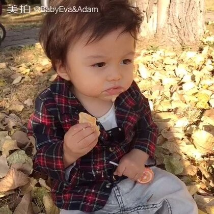#宝宝##混血萌宝Adam#🍁🍃转眼秋天都到了,真的好久不见了,miss u all💕💕💕@宝宝频道官方账号 @美拍小助手