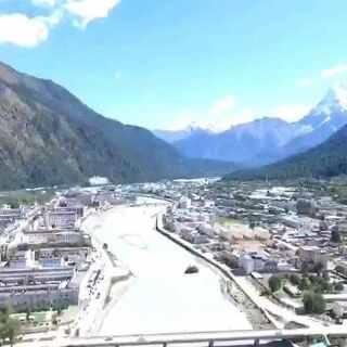 【航拍】西藏的瑞士-波密 全景#无人机#