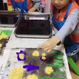 孩子们的想法天马行空的#创意小课堂##美术课#