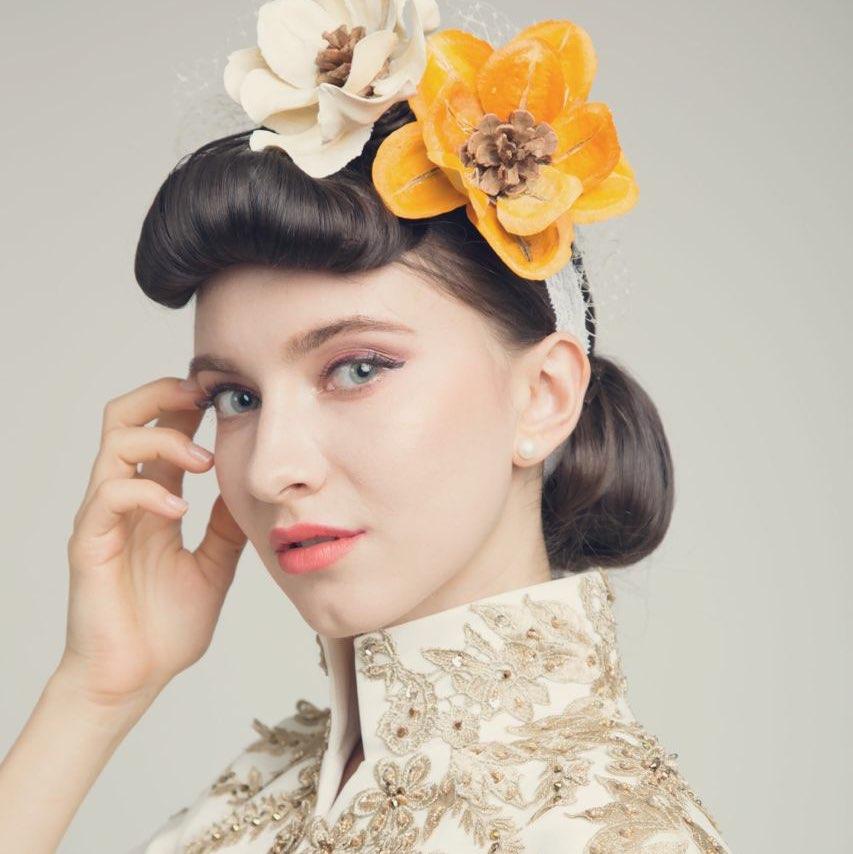 12:48     #韩式新娘造型# #新娘鲜花造型# #新娘鲜花发型# #西子彩妆