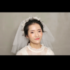 日系甜美新娘化妆造型 #十月婚礼季# 老鱼映画,想了解更多咨询请加:laoyuyinghua
