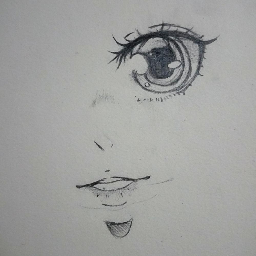 美术课画的眼睛#眼睛# #画画# #手绘铅笔