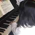 索菲亚(Sophia)4岁弹奏《十个小印第安人》快进⏩版😋
