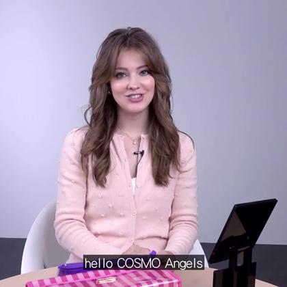 【COSMO beauty】Annie 彩妝篇  Annie來教大家她如何讓自己總是這麼美麗的小小秘密喲! #COSMO##明星名人##Annie##俄羅斯##彩妝##時尚##女神##好漂亮#