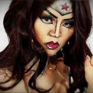 逆天,神奇女侠漫画仿妆惊爆你的眼球。神奇女侠盖尔加朵仿妆来袭,妆出你心中的超级女英雄!#那些逆天的化妆教程##美妆时尚##cosplay##寻找最美coser#@美拍小助手 #我要上热门#