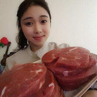 十份牛排边做边吃#中国吃播##鲜肉直播#