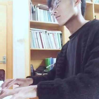 彩虹 钢琴 周杰伦 By Ch#自拍##音乐##晚安#