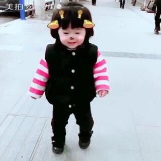 #睫毛放棉签##随手美拍##穿秀#今天心情真好,刚吃完饺子出来溜溜,太冷了,走不动了都,喜欢的叔叔阿姨一定要关注宝宝哦!😊😊😊😊😊😊