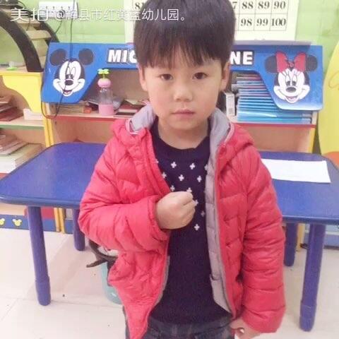 红黄蓝幼儿园中二班晨间谈话环节