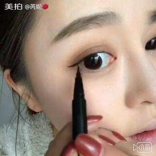 #美妆教程##妮言妮语# 昨早上突发奇想,家里停电,就站在窗户边利用自然光线画了个妆,结尾有点干瘪,于是我还是加了点音乐~妆容所用到的产品我发在微博👉http://weibo.com/u/1806770014