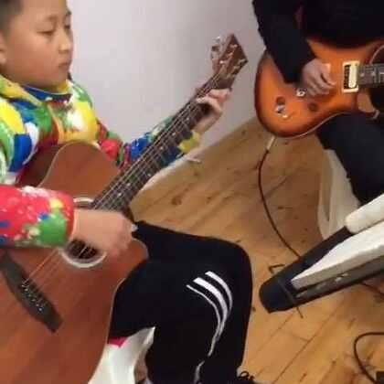 真的爱你 排练时间#吉他弹唱##beyond##U乐国际娱乐#🎸SOLO😄