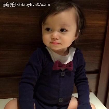 #宝宝##混血萌宝##最爱笑的宝宝#🌵Adam13M+👶🏻口水大王来袭😻pretty boy💫💫💫@美拍小助手 @宝宝频道官方账号
