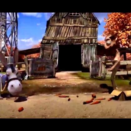 经典动画短片:农夫与驴子的故事.😃😃😃